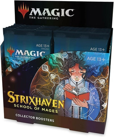 MTG Strixhaven: School of Mages Collector Booster Box Pre Order