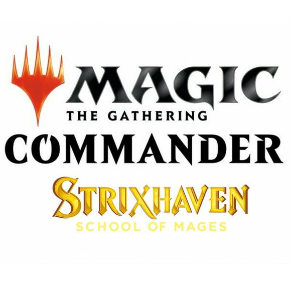 MTG Strixhaven: 2021 Commander 5 Deck Set