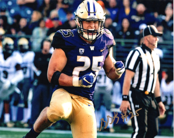 Ben Burr-Kirven UW Huskies/Seahawks Signed 8x10 Photo #5 *FREE SHIPPING*