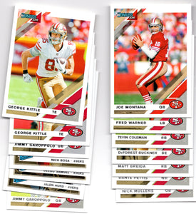 2019 Donruss San Francisco 49ers Team Set *FREE SHIPPING