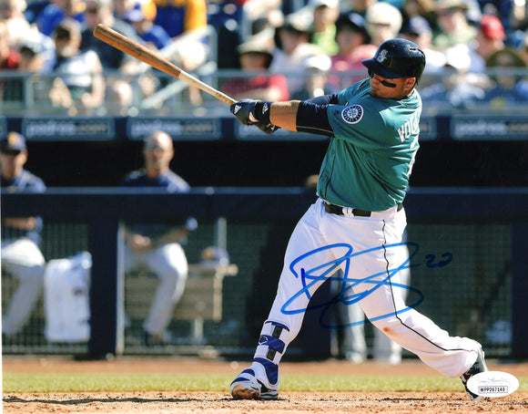 Daniel Vogelbach Seattle Mariners Signed 8x10 Photo #3 *FREE SHIPPING*