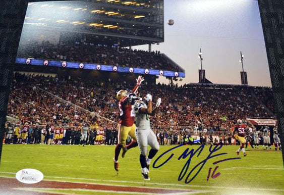 Tyler Lockett Seahawks Signed 8x10 Photo #3 *FREE SHIPPING*