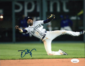 Dee Gordon Seattle Mariners Signed 8x10 JSA/COA Photo C *FREE SHIPPING*