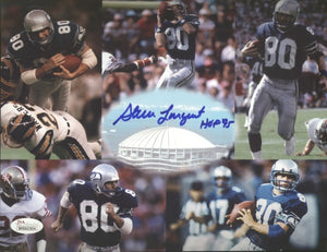 "Copy of Steve Largent Seahawks ""HOF 95"" Signed 8x10 Photo B JSA/COA *FREE SHIPPING*"