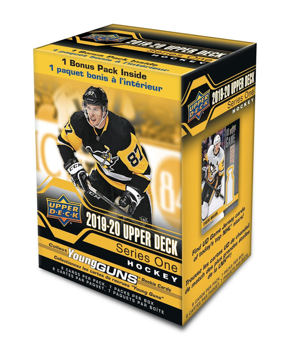 2019-20 Upper Deck Series One 1 Hockey Blaster Box