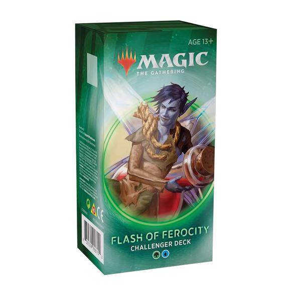 Magic the Gathering 2020 Challenger Deck Flash of Ferocity