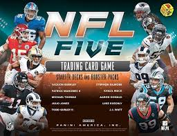 2019 Panini NFL Five 5 Trading Card Game Football Starter Deck