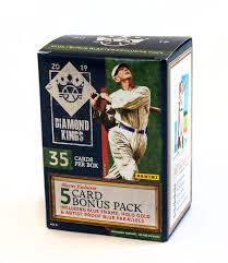 2019 Diamond Kings Baseball Blaster Box