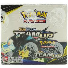 Pokemon Sun & Moon Team Up Booster Box