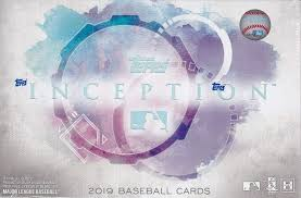 2019 Topps Inception Hobby Box