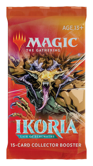 MTG Ikoria: Lair of Behemoths Collector Booster Pack