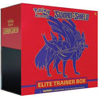 Pokémon Sword & Shield Elite Trainer Box Red (Zacian)