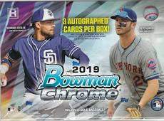 2019 Bowman Chrome Baseball HTA Hobby Box