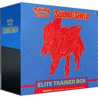 Pokémon Sword & Shield Elite Trainer Box Blue (Zamazenta)