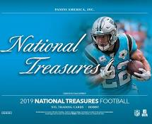 2019 Panini National Treasures NFL Football Hobby Box