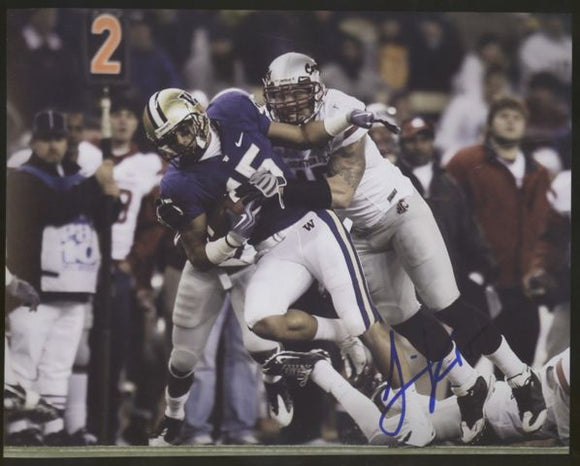 Jermaine Kearse UW Huskies Signed 8x10 Photo Autograph #1 *FREE SHIPPING*