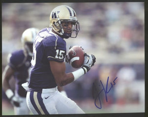 Jermaine Kearse UW Huskies Signed 8x10 Photo Autograph #2 *FREE SHIPPING*