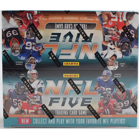 2019 Panini NFL Five 5 Trading Card Game Football Box