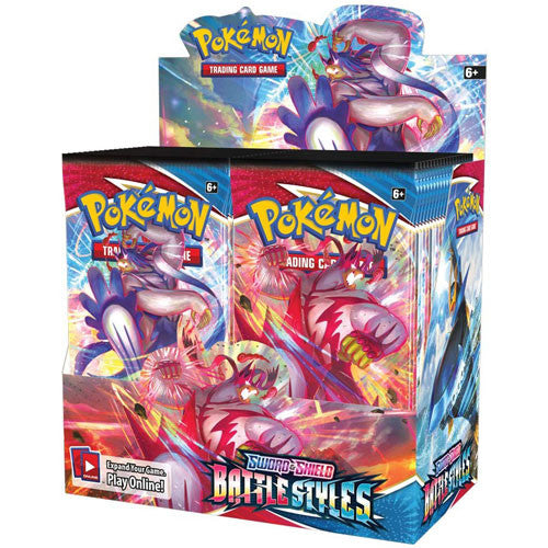 Pokemon Sword & Shield Battle Styles Booster Box Pre Order
