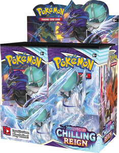 Pokemon Sword & Shield: Chilling Reign Booster Box Pre Order