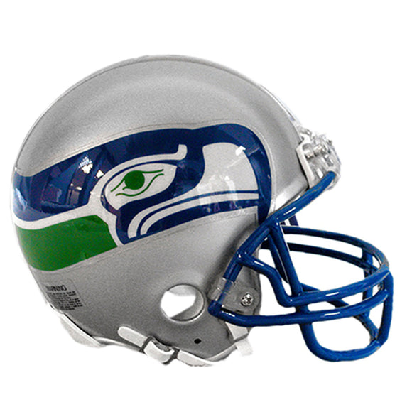 Seattle Seahawks Throwback 1983-2001 Riddell  Mini Football Helmet Unsigned