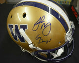 Jake Browning UW Huskies Signed Full Size Helmet JSA COA *FREE SHIPPING*