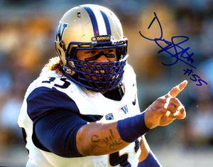 "Danny Shelton UW Huskies Signed 8x10 Photo ""The Point""*FREE SHIPPING*"