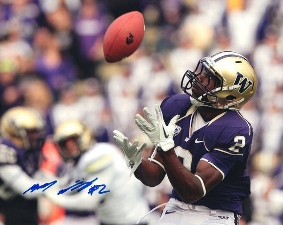 Kasen Williams UW Huskies Signed 8x10 Photo #1 *FREE SHIPPING*