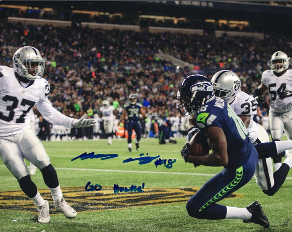 Kasen Williams UW Huskies/Seahawks Signed 8x10 Photo