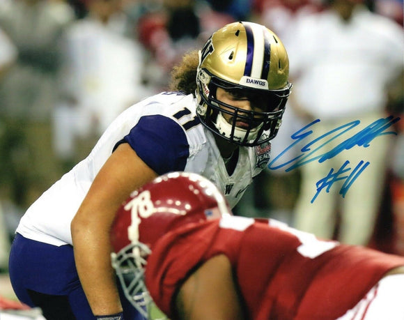 Elijah Qualls UW Huskies Signed 8x10 Photo #4 *FREE SHIPPING*