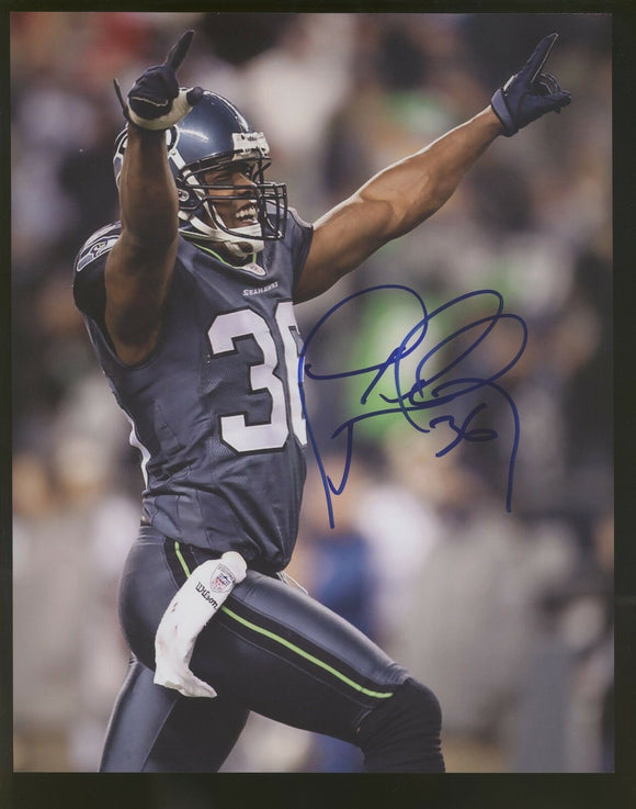 Lawyer Milloy Huskies/Seahawks/Patriots Signed 8x10 Photo