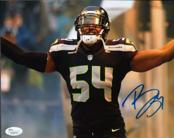 Bobby Wagner Seattle Seahawks Signed 8x10 Photo #3 JSA COA