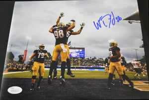 Will Dissly Seahawks & UW Huskies Signed 8x10 Photo#3 JSA COA *FREE SHIPPING*h
