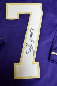 Shaq Thompson UW Huskies Signed Jersey *FREE SHIPPING*