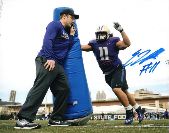 Elijah Qualls UW Huskies Signed 8x10 Photo #5 *FREE SHIPPING*