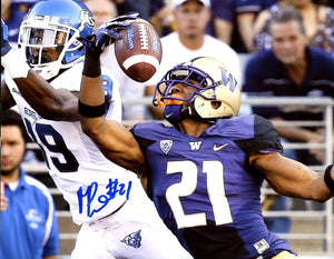 Marcus Peters UW Huskies Signed 8x10 Photo vs. GSU *FREE SHIPPING*