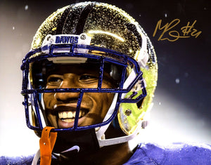 "Marcus Peters UW Huskies Signed 8x10 Photo ""Rain"" *FREE SHIPPING*"