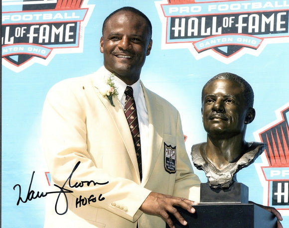 Warren Moon UW Huskies Signed 8x10 Photo HOF *FREE SHIPPING*