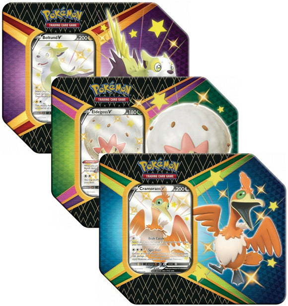 Pokemon Shining Fates Tin Box
