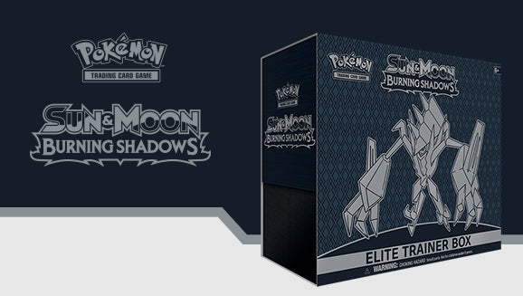 Pokémon Sun & Moon Burning Shadows Elite Trainer Box
