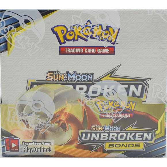 Pokemon Unbroken Bonds Booster Box