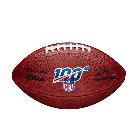 NFL Official 100 Year Authentic Leather Game Football (Boxed) *FREE SHIPPING