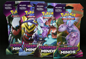 Pokemon Unified Minds 10 Booster Pack Lot *FREE SHIPPING*