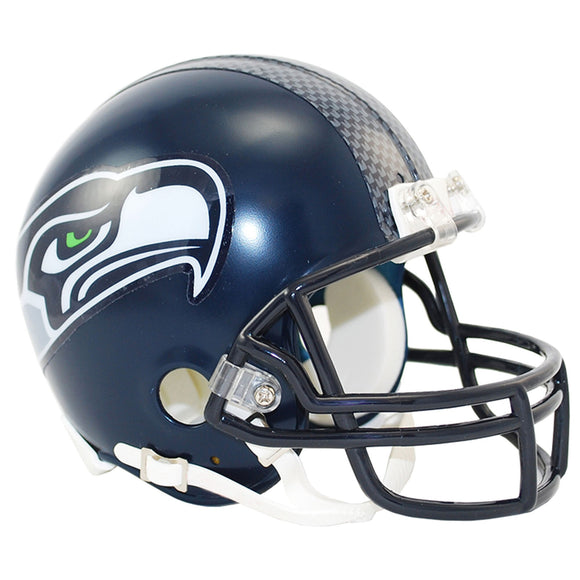 Seattle Seahawks Riddell Mini Football Helmet VSR Unsigned