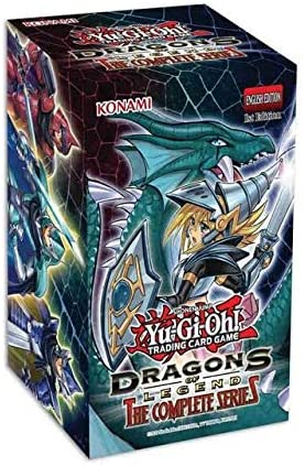 YuGiOh Dragons of Legend Complete Series Display Box (8 Mini Boxes)