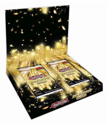 YuGiOh Maximum Gold  Box (w/4 Packs) Pre Order*