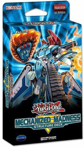 YuGiOh Mechanized Madness 1st Edition Structure Deck Box