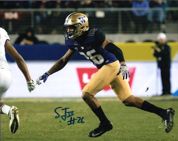 Sidney Jones UW Huskies Signed 8x10 Photo Autograph F *FREE SHIPPING*