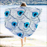 Beach Towels - MANDALA TOWELS BLANKET PEACOCK