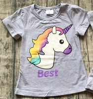 Kids - BEST FRIENDS UNICORN TOP